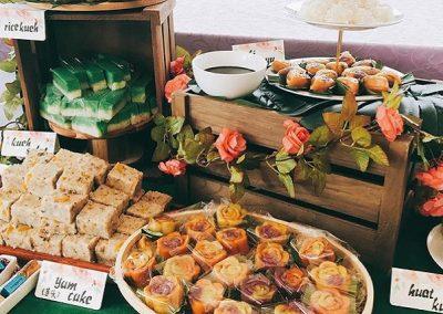 Kueh Dessert Table 4